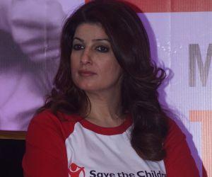 Twinkle Khanna Present At Save The Children As Artist Ambassador