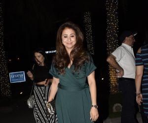 Urmila Matondkar spotted at Yautcha bkc