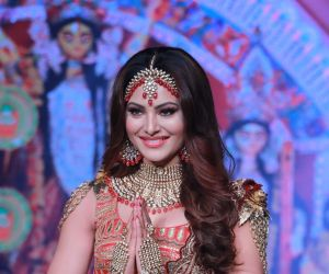 Urvashi Rautela walks for Rohit Verma at Bombay Times Fashion Week 3rd show