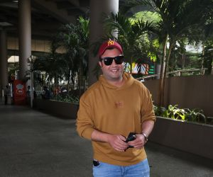 Varun Sharma Spotted At Airport Arrival