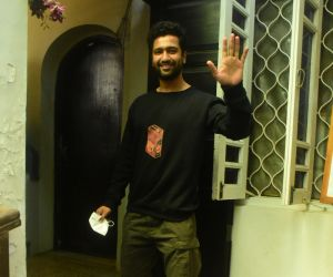 Vicky Kaushal Spotted At Gym In Bandra
