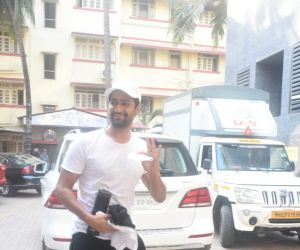 Vicky kaushal spotted in Bandra
