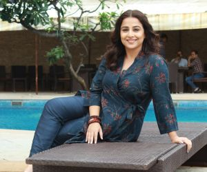 Vidya Balan spotted Promoting her movie mission Mangal At Sun n Sand