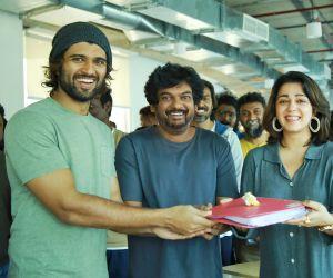 Vijay Deverakonda in his new movie Pooja Site.