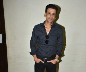 Manoj Bajpayee At The Launch Of Ghazal Album 'Ghaliban