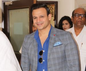 Vivek Oberoi At The Press Conference Of World Prace Conclave