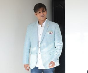 Vivek Oberoi for the media interactions of film