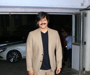 Vivek oberoy at event bandra
