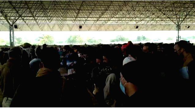 1,000 people put on quarantine in Samba.