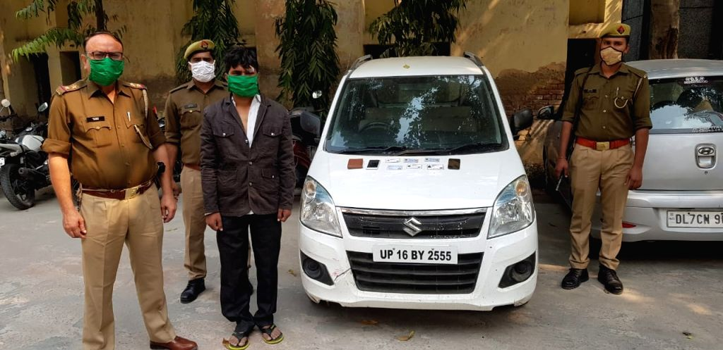 1 car sold 12 times on OLX, police arrested accused.
