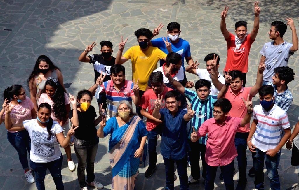 10.45L students pass Class 12 board exam in Bihar (Ld, Correcting headline). (Photo: IANS)