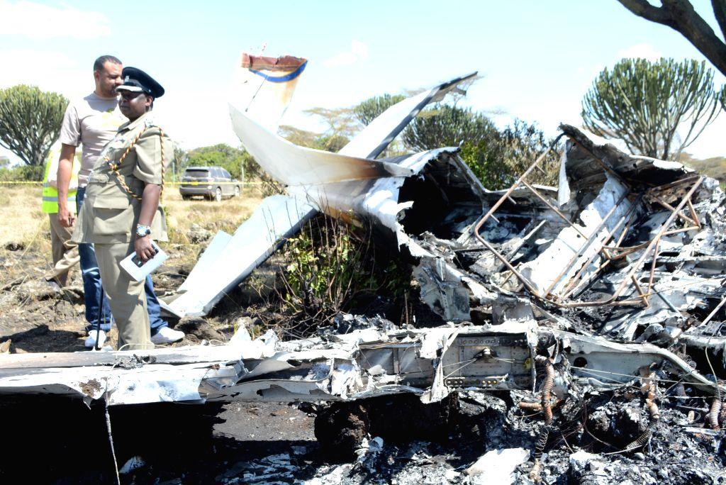 10 killed in US plane crash. (Xinhua/Robert Manyara/IANS)