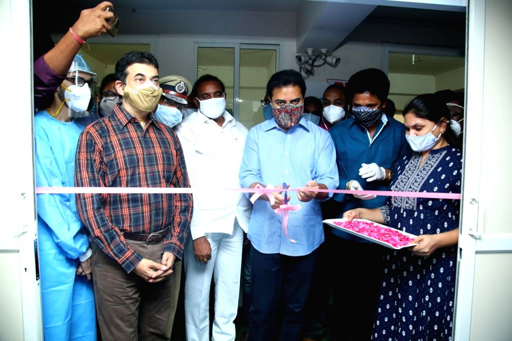 100-bed Covid care centre opened in Hyderabad
