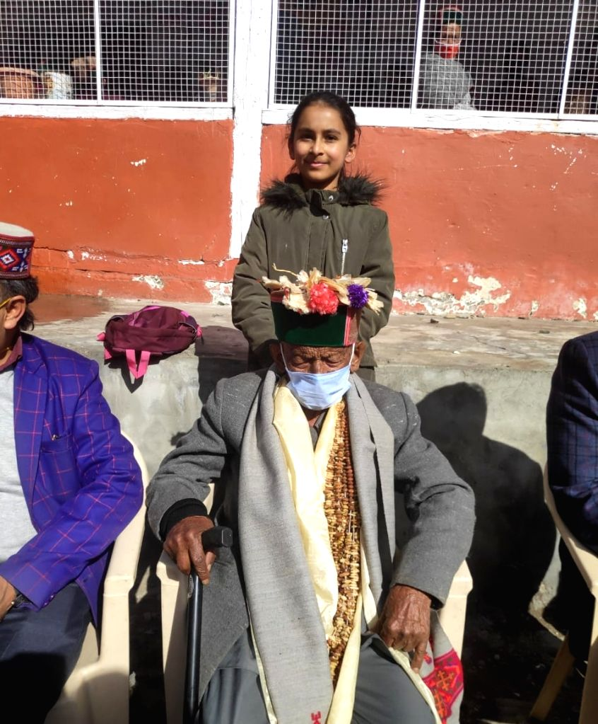 103-yr-old casts vote in Himachal panchayat polls