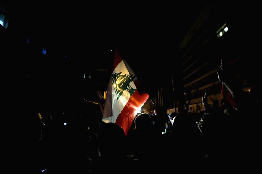 11 injured in Lebanon anti-govt protests
