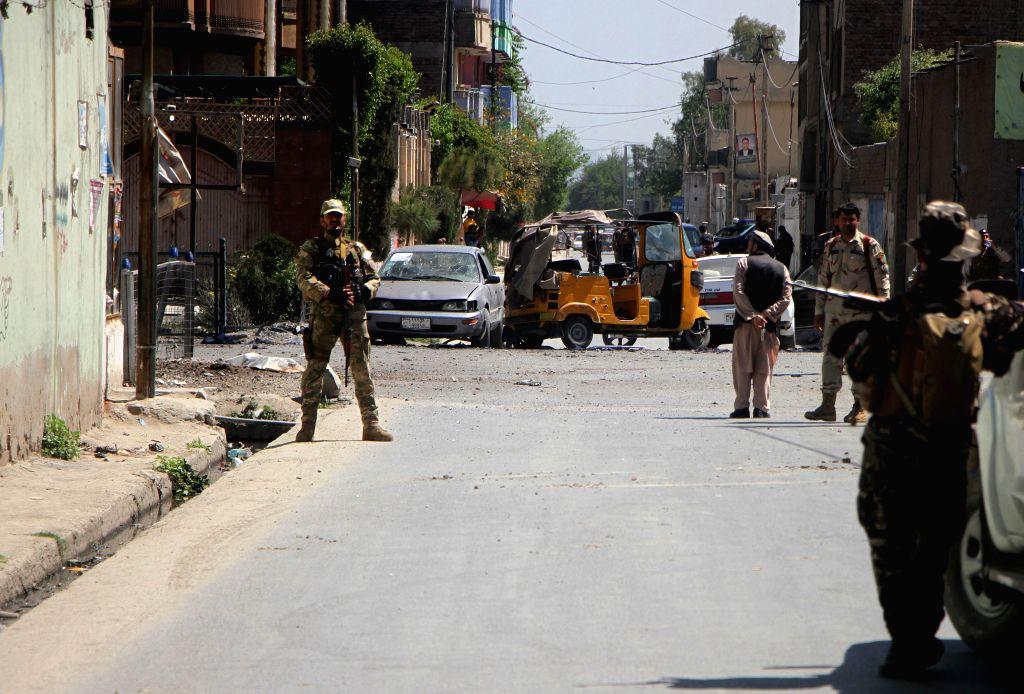 13 killed in Afghan prison attack