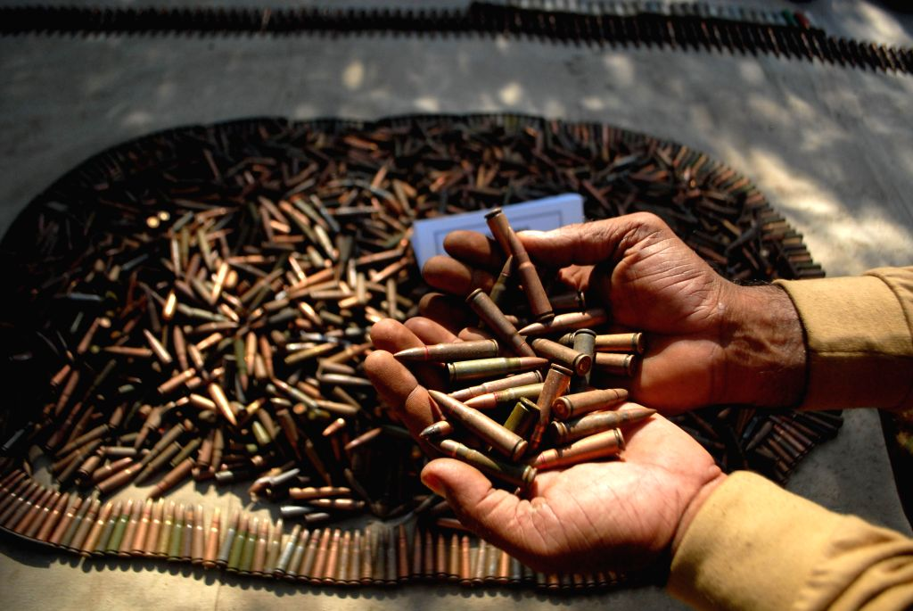 13 live bullets recovered from woman passenger at Vizag airport