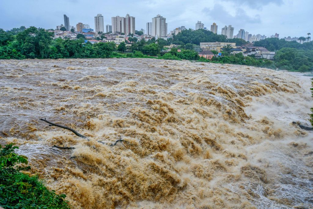 14 dead in Brazil heavy rains. (Photo: IANS)
