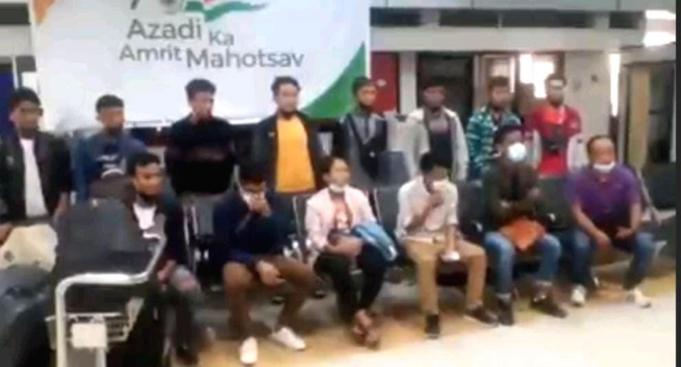 14 Delhi bound Myanmarese nationals held in Manipur airpo