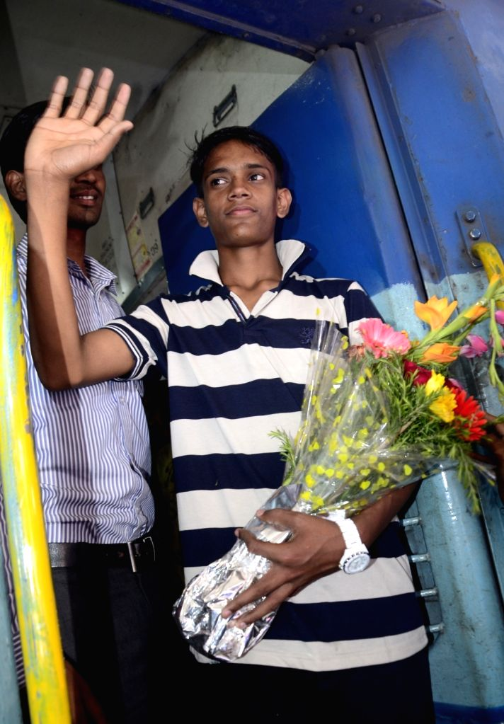 15-year-old Ramzan departs for Kolkata from Bhopal  on April 6, 2016. He had entered India with the hope of sneaking into Pakistan where his mother lives but was caught by police and handed ...