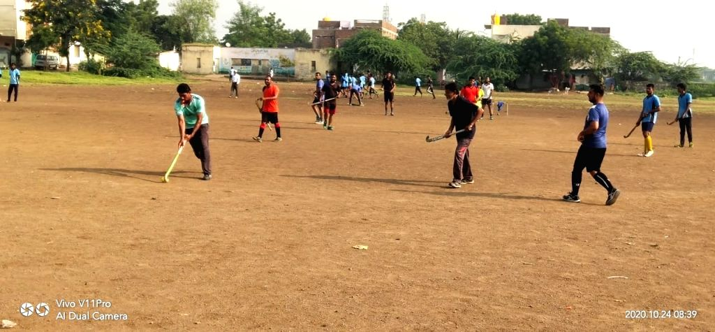 150 hockey players resume sports activities in Maharashtra.
