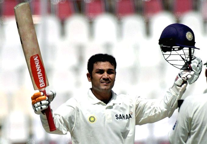 17th anniversary: After smashing 309 in Multan, Sehwag had veg dinner