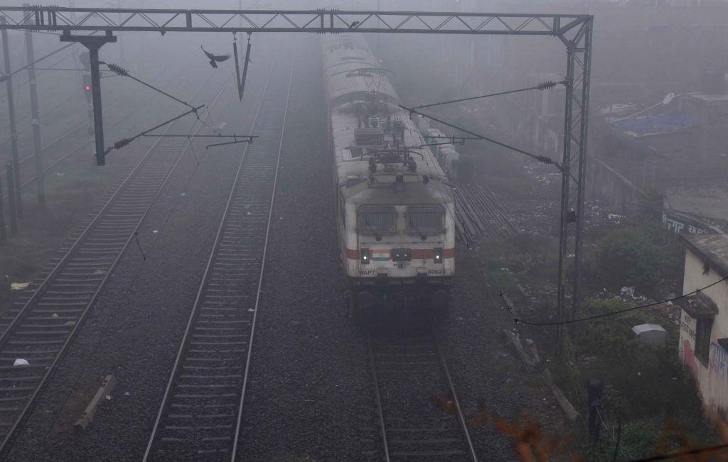 18 Delhi-bound trains delayed due to fog