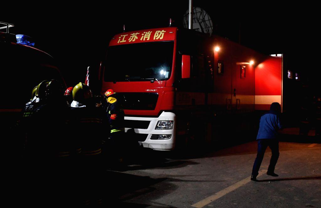 18 killed in China tanker blast