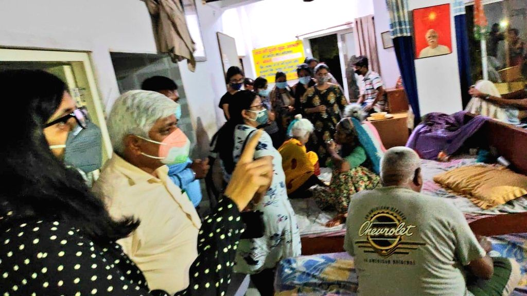 19 disabled senior citizens found captive in Nangloi old age home.