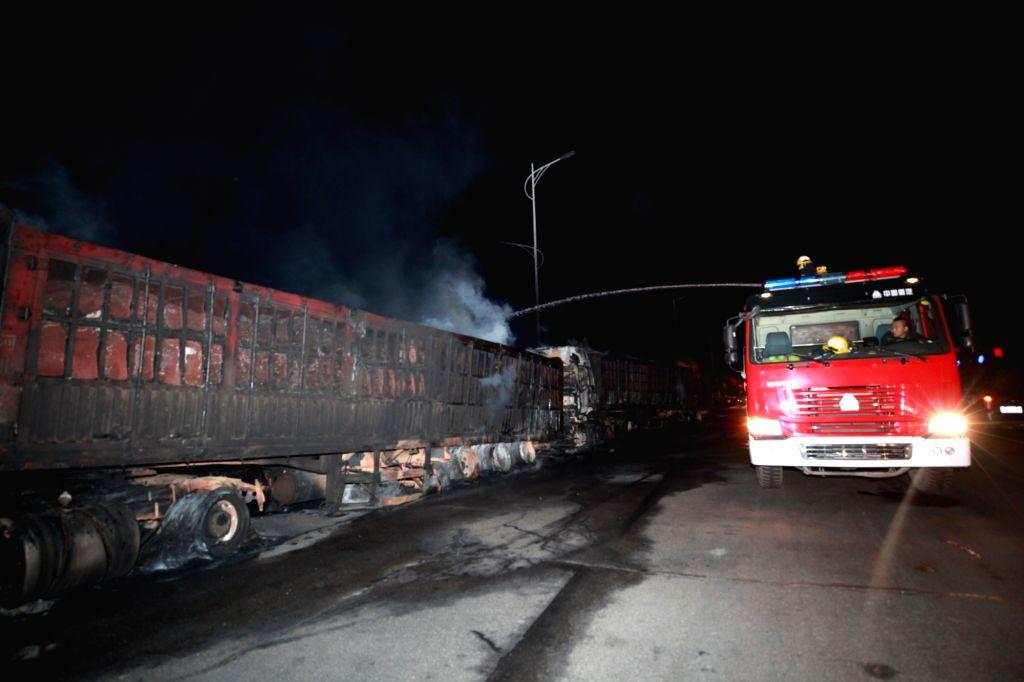 19 killed in China tanker blast (Ld)