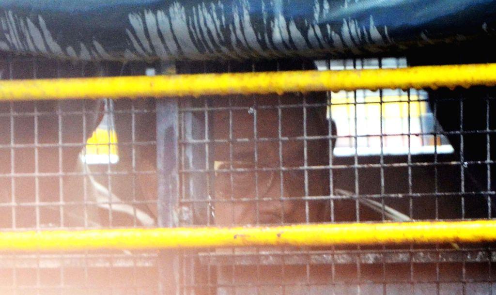 1993 Mumbai bomb blast accused Mustafa Dossa alias Mustafa Majnu being produced in a TADA court in Mumbai on June 19, 2017.