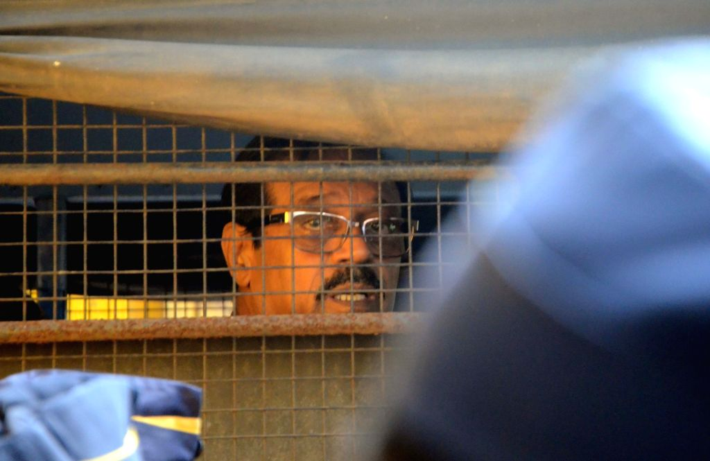 1993 Mumbai bomb blast accused Musttafa Dosa being produced in a TADA court in Mumbai on June 16, 2017.