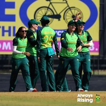 1st ODI: SA cruise to eight-wicket win over India.(Credit: CSA Twitter)