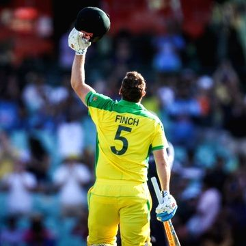 1st ODI: Tons from Finch, Smith help Aus set 375-run target for India.
