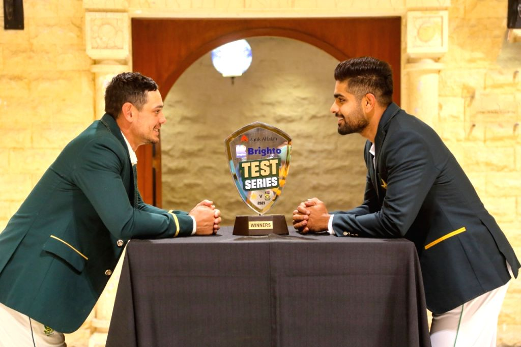 1st Test: South Africa opt to bat against Pakistan.(photo:Twitter)