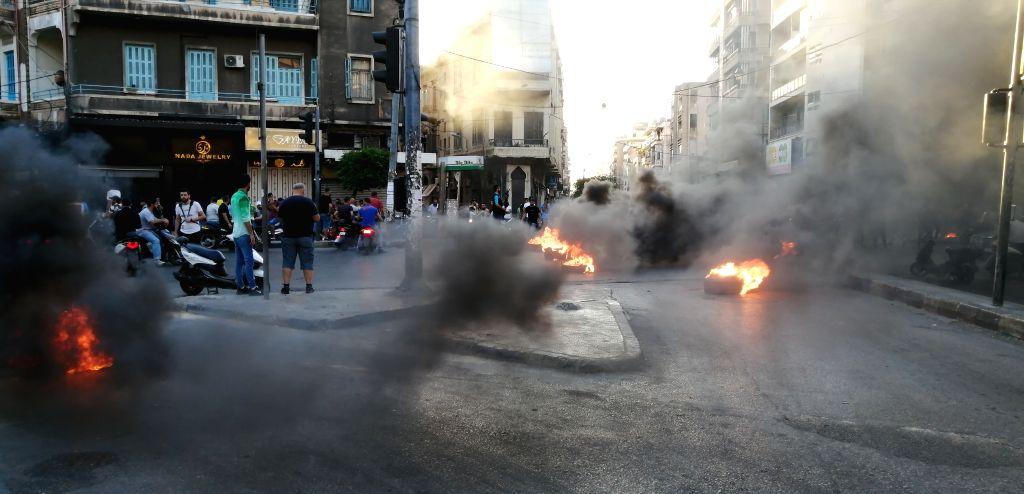 20 injured in Lebanon anti-govt protests