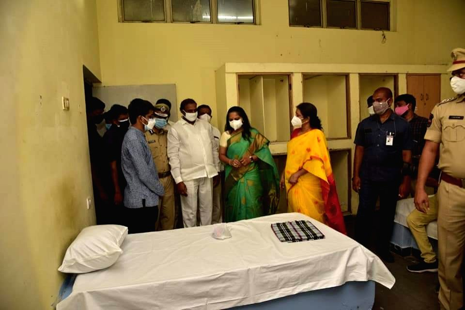 200-beded Covid isolation centre opened in Hyderabad