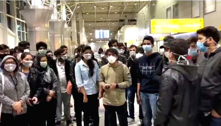 200 Indian students stranded at Kazakhstan airport.