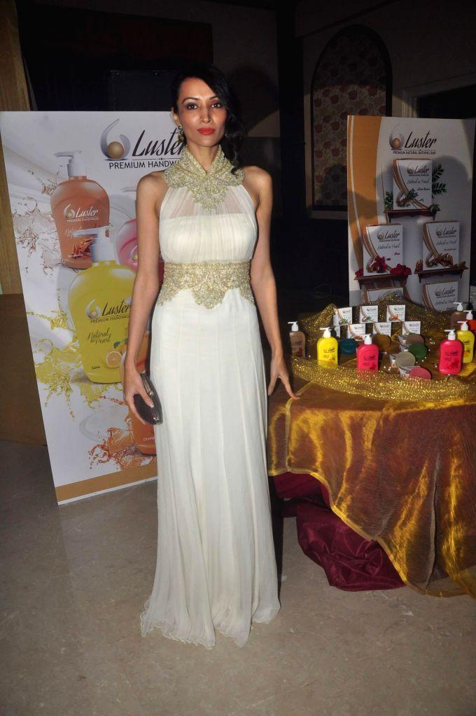 Actor Deepanita endorses Luster cosmetics at Malad in Mumbai on Feb 21, 2015.