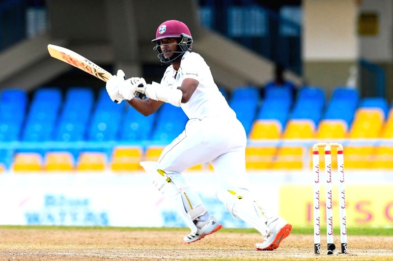 2nd Test: Brathwaite leads West Indies recovery.(Credit: Cricket West Indies)