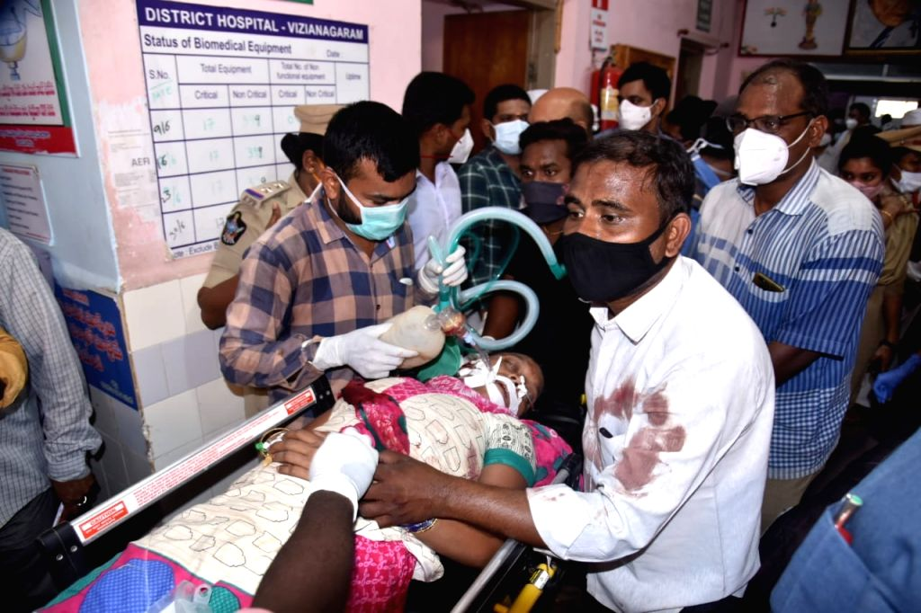 3 dead, several injured in two buses, truck smash in Andhra Pradesh