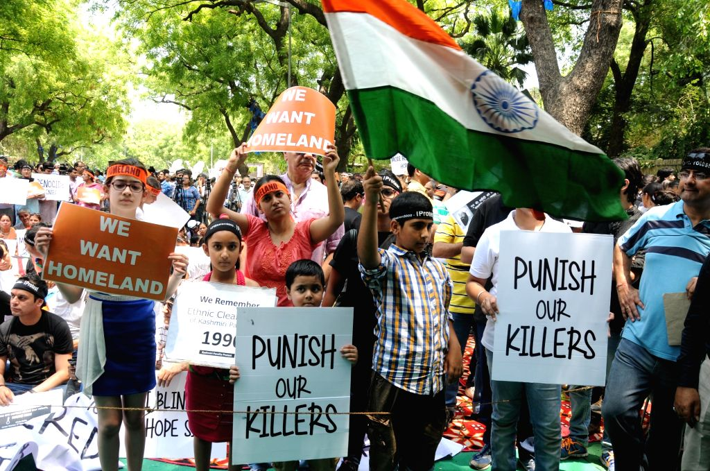 30 years after exodus, Kashmiri Pandits struggle for justice. (Photo: IANS)