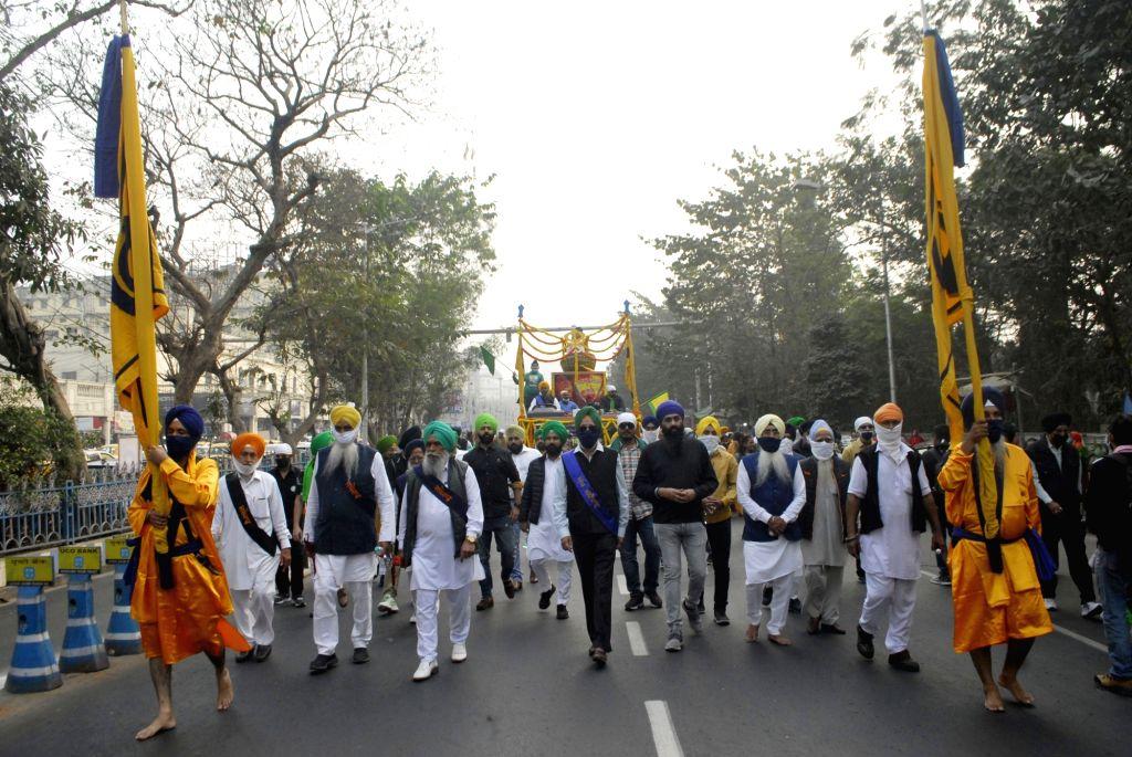 354th Birth anniversary of Guru Gobind Singh in Kolkata. - Gobind Singh