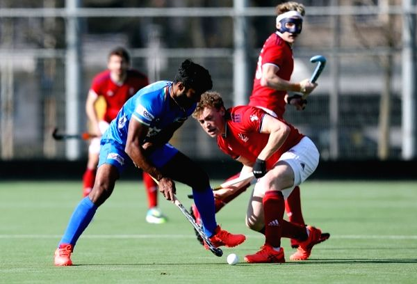 3rd hockey match: Late Simranjeet goal gives India draw