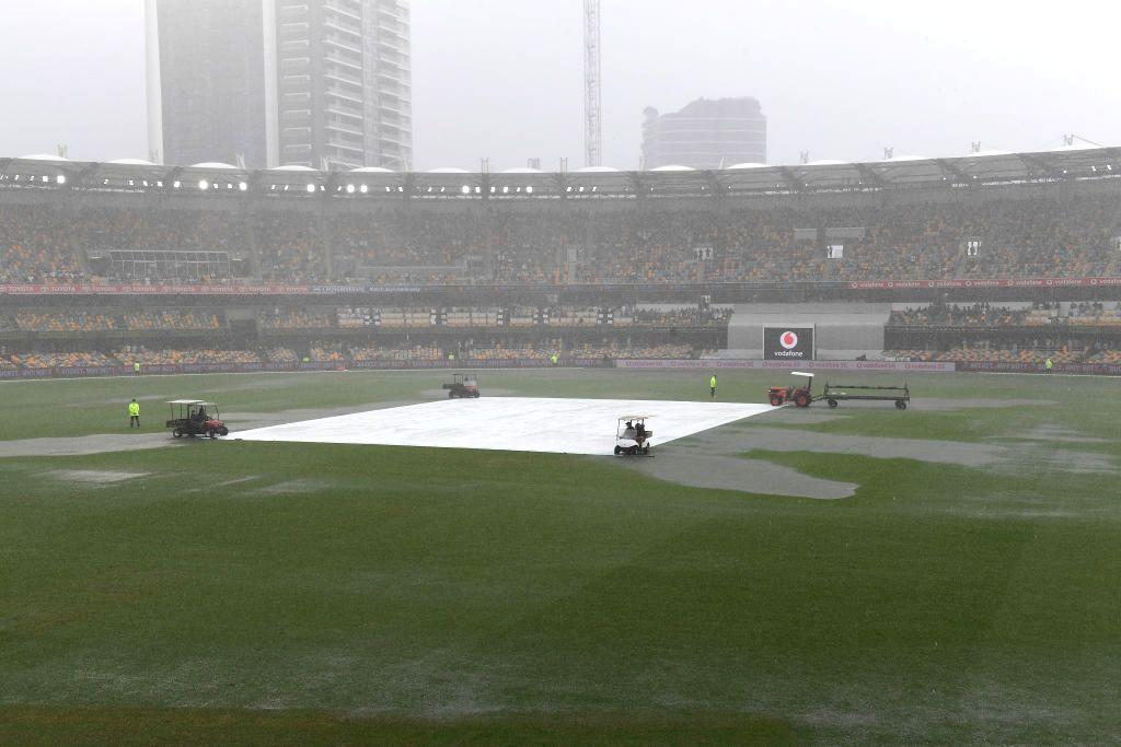 4th Test: India 62/2 at stumps after rain washes out 3rd session (Credit: @BCCI/Twitter)