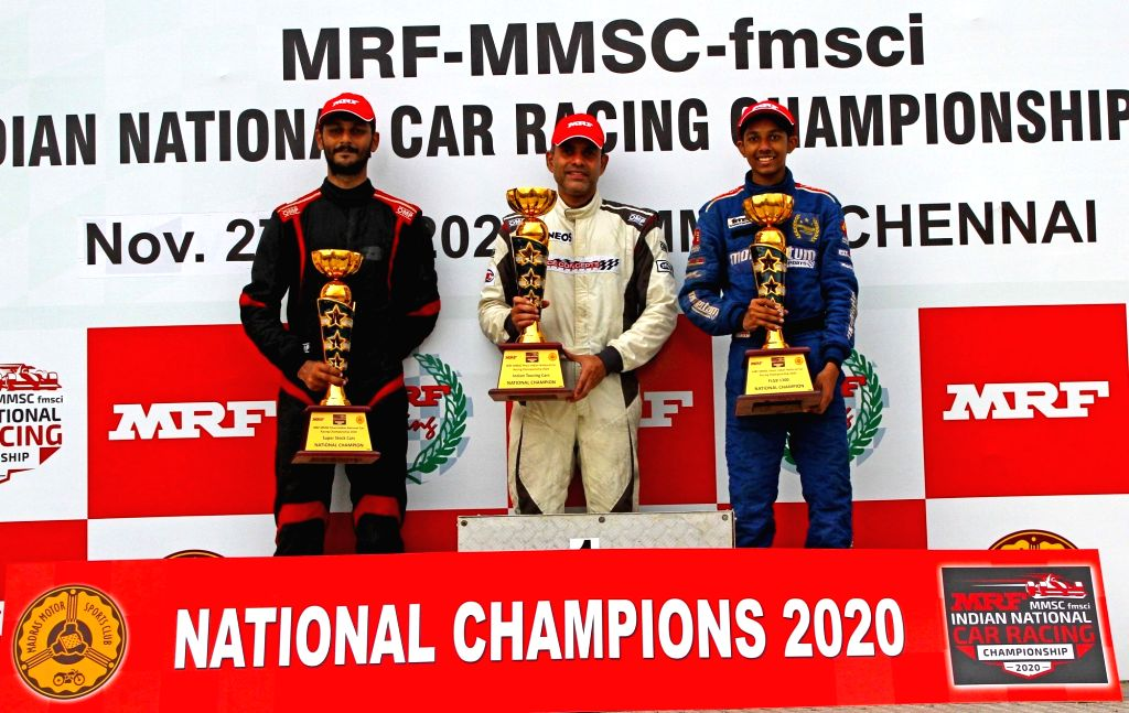 4W Indian National Championship: Balu wins ITC title.