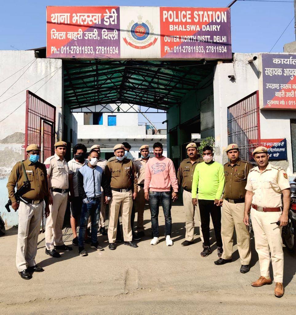 5 held for rioting in Delhi over property dispute