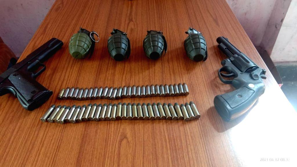 5 Myanmar militants held with arms in Mizoram.