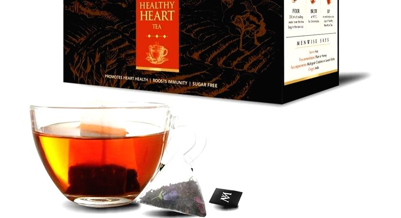5 teas for a healthy heart.