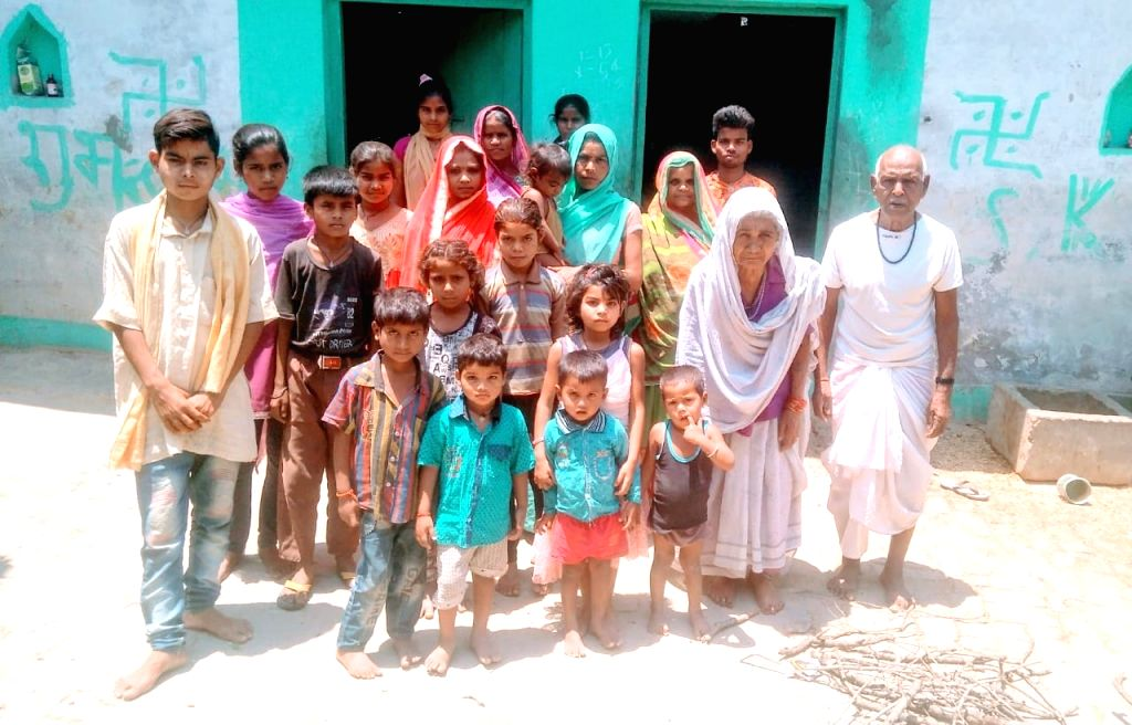 50-member family follows safety protocol in UP village (IANS Special).